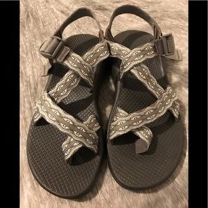 Women's Chaco sandals.